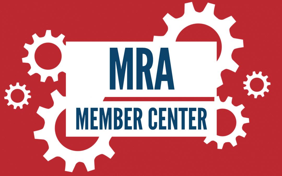 MRA Announces Member Center